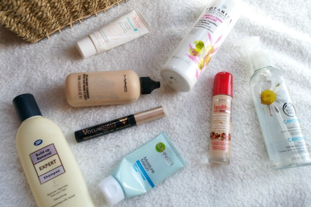 monthly empties