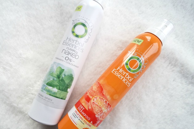herbal essences dry shampoo review naked and uplifting volume